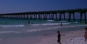Beautiful day at Pensacola Beach