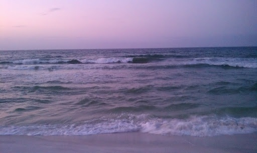 Friday Sunrise Beach and Surf Report 03/30/12