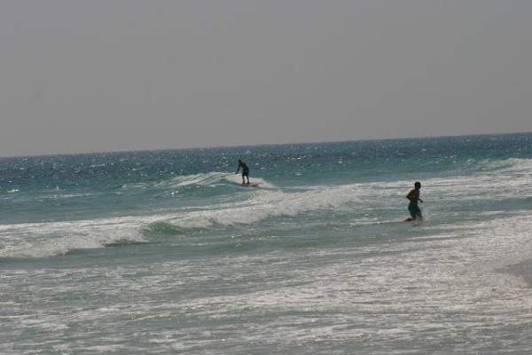 Saturday Afternoon Beach and Surf Report 04/07/12