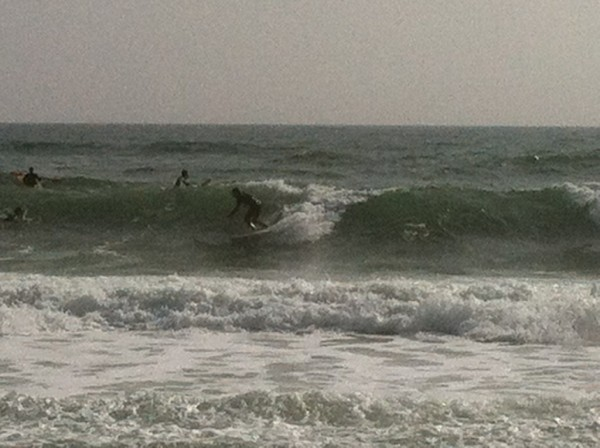 Monday Midday Beach and Surf Report 01/14/13