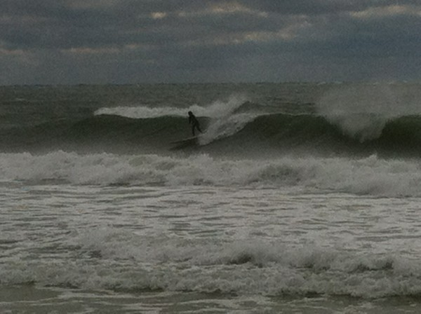 Thursday Midday Beach and Surf Report 01/17/13
