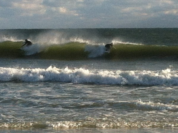 Thursday Evening Beach and Surf Report 01/17/13