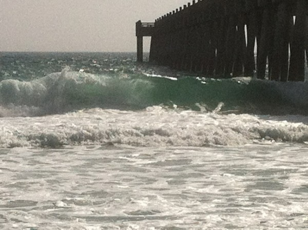 Tuesday Midday Beach and Surf Report 01/29/13