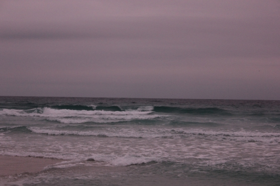 Tuesday Sunrise Beach and Surf Report 01/08/13