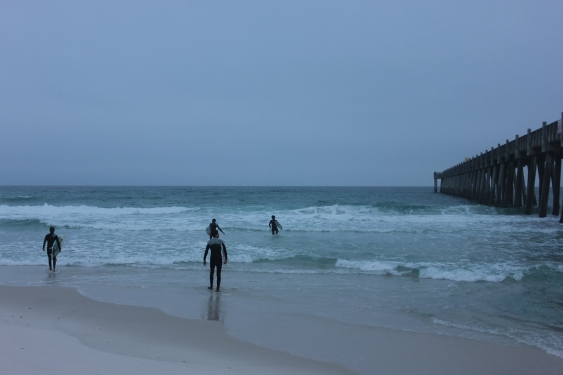 Wednesday Sunrise Beach and Surf Report 01/09/13