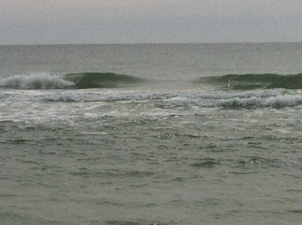 Wednesday Midday Beach and Surf Report 02/20/13