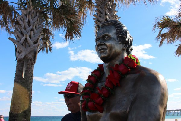 Yancy Spencer Statue Unveiling 02/16/13