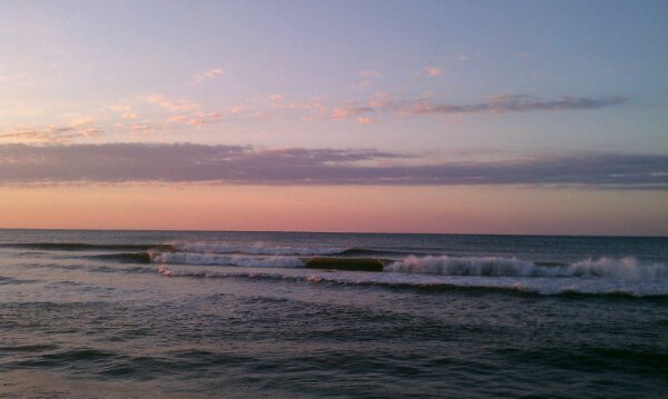 Thursday Sunrise Beach and Surf Report 02/28/13