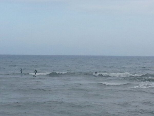 Sunday Afternoon Beach and Surf Report 04/07/13