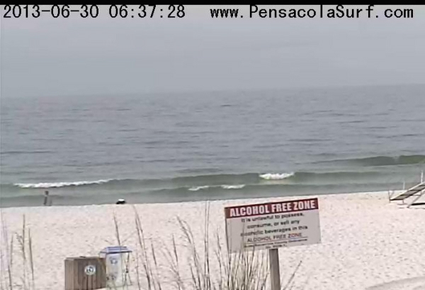 Sunday Sunrise Beach and Surf Report 06/30/13