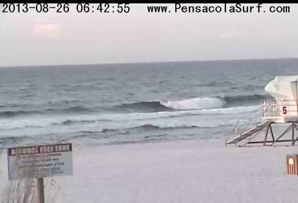 Monday Morning Beach and Surf Report 08/26/13