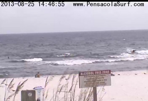 Sunday Afternoon Beach and Surf Report 08/25/13 2:50 PM