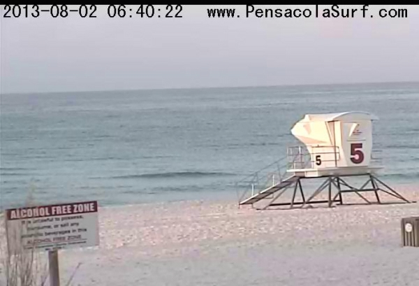 Friday Sunrise Beach and Surf Report 08/02/13