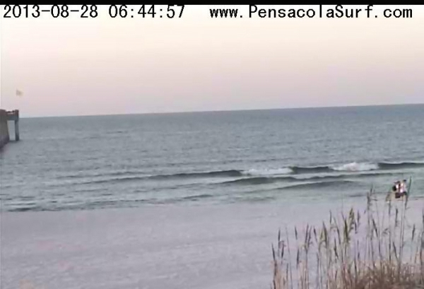 Wednesday Sunrise Beach and Surf Report 08/28/13