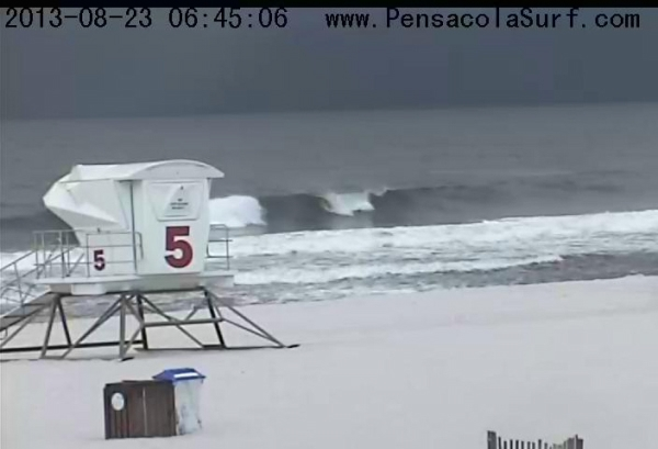 Friday Sunrise Beach and Surf Report 08/23/13