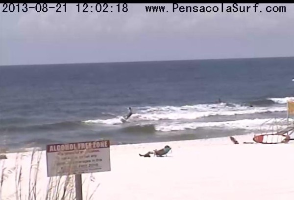 Wednesday Midday Beach and Surf Report 08/21/13