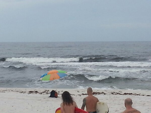 Saturday Afternoon Beach and Surf Report 08/24/13