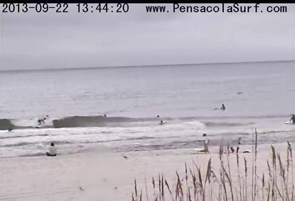 Sunday Afternoon Beach and Surf Report 09/22/13 1:45 pm