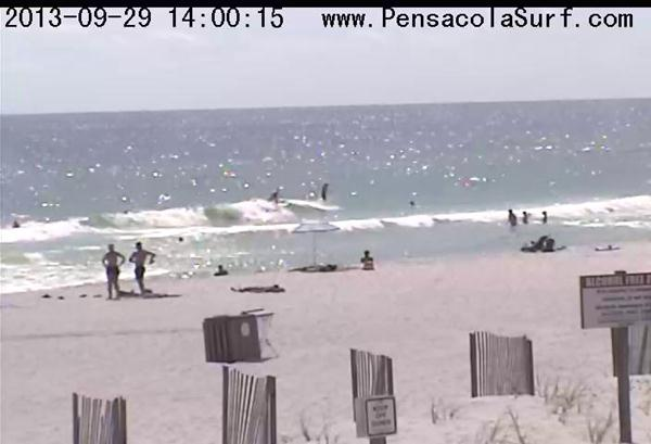 Sunday Afternoon Beach and Surf Report 09/29/13 1:55 pm