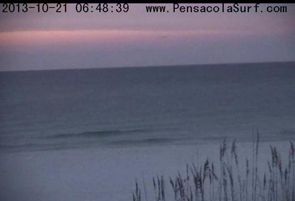 Monday Sunrise Beach and Surf Report 10/21/13