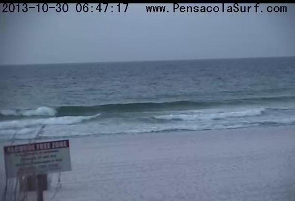 Wednesday Sunrise Beach and Surf Report 10/30/13