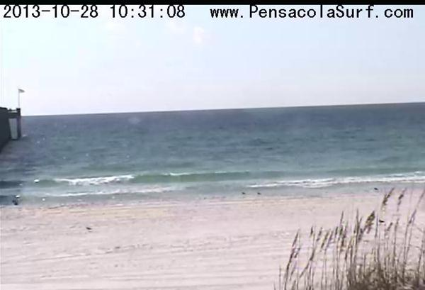 Monday Mid-Morning Beach and Surf Report 10/28/13