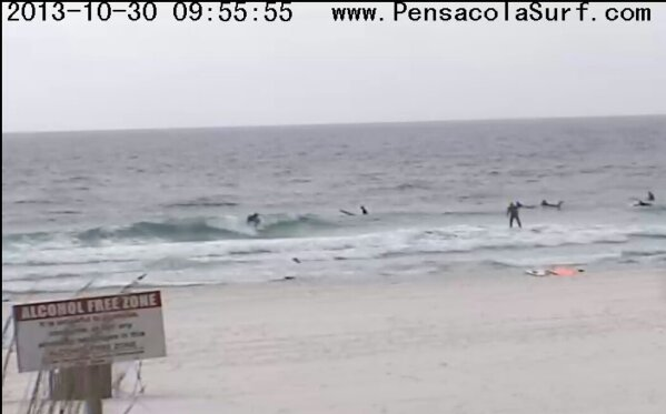 Wednesday Midday Beach and Surf Report 10/30/13