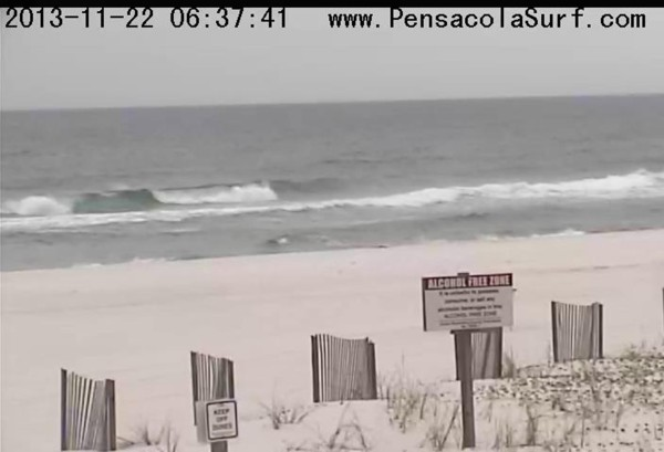 Friday Sunrise Beach and Surf Report 11/22/13