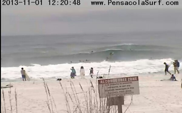 Friday Midday Beach and Surf Report 11/01/13 12:30 pm