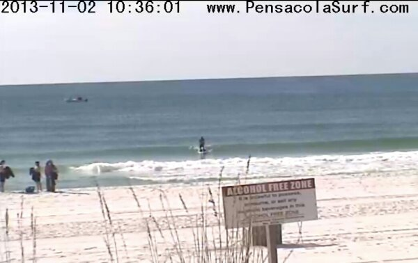 Saturday Midday Beach and Surf Report 11/02/13 10:50 am