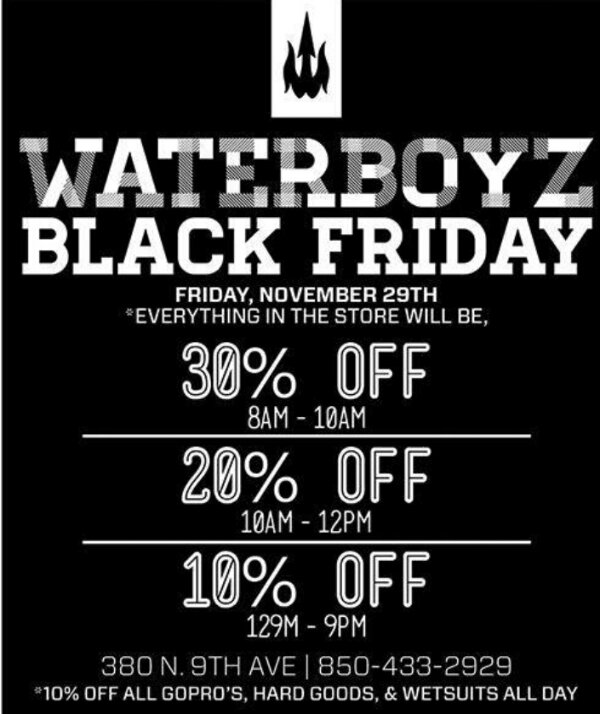 Waterboyz Black Friday Deals