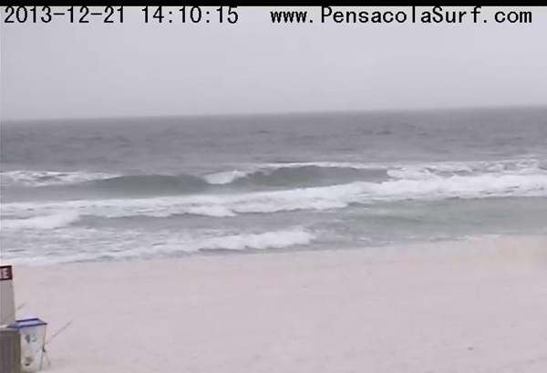 Saturday Afternoon Beach and Surf Report 12/21/13