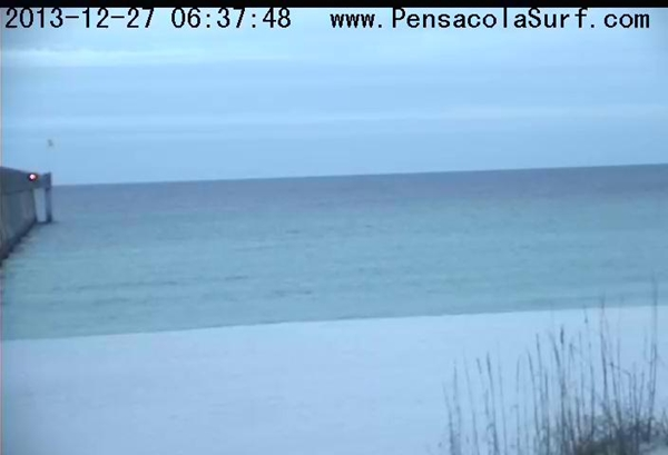Friday Sunrise Beach and Surf Report 12/27/13