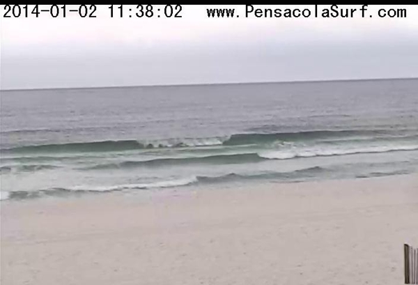 Thursday Midday Beach and Surf Report 01/02/14