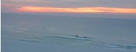 Sunday Sunrise Beach and Surf Report 01/26/14