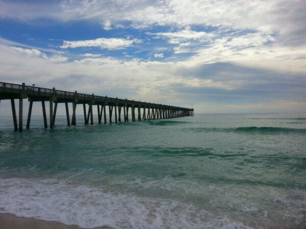 Sunday Midday Beach and Surf Report 01/26/14