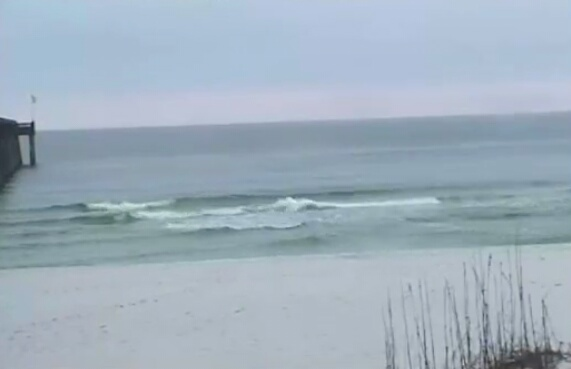 Monday Sunrise Beach and Surf Report 02/24/14