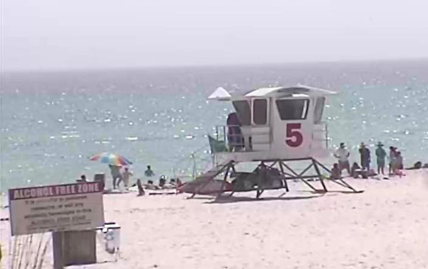 Saturday Afternoon Beach and Surf Report 03/22/14