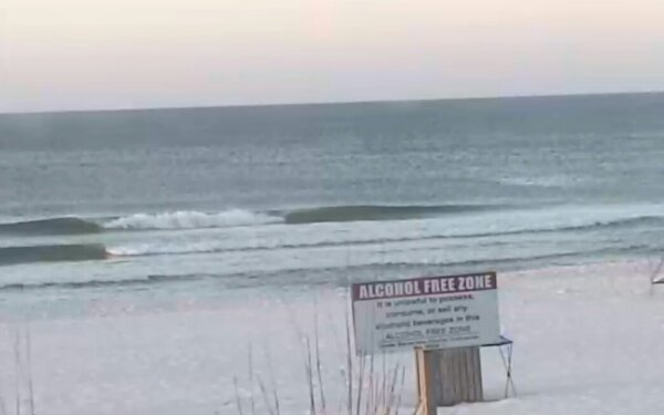 Sunday Sunrise Beach and Surf Report 03/30/14