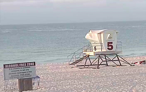 Monday Sunrise Beach and Surf Report 04/21/14