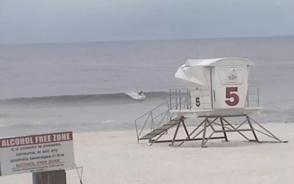 Thursday Sunrise Beach and Surf Report 05/29/14
