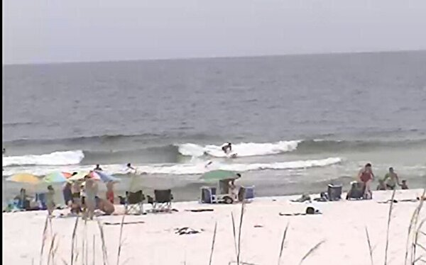 Saturday Midday Beach and Surf Report 06/28/14