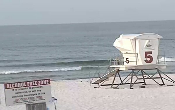 Monday Sunrise Beach and Surf Report 06/30/14