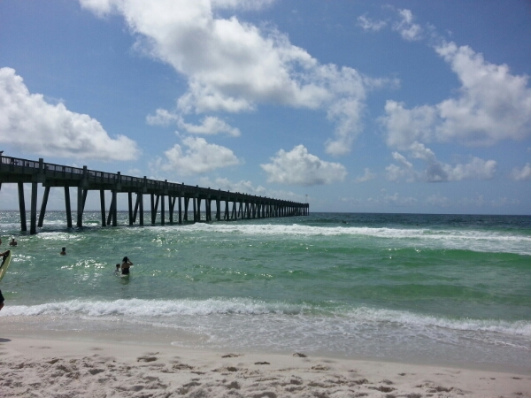 Saturday Midday Beach and Surf Report 08/30/14