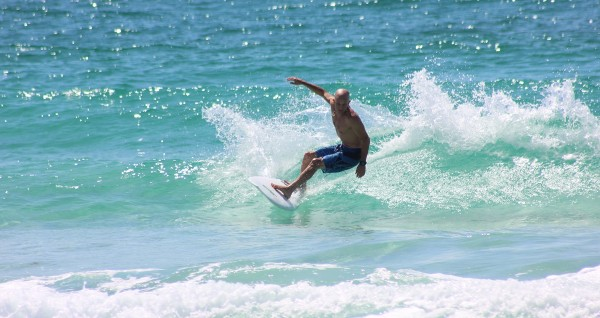 Tuesday Midday Surfing Pictures on Pensacola Beach 09/02/14