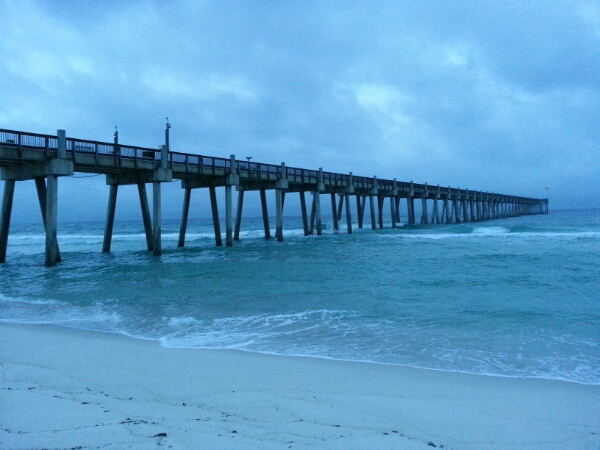 Monday Sunrise Beach and Surf Report 09/29/14