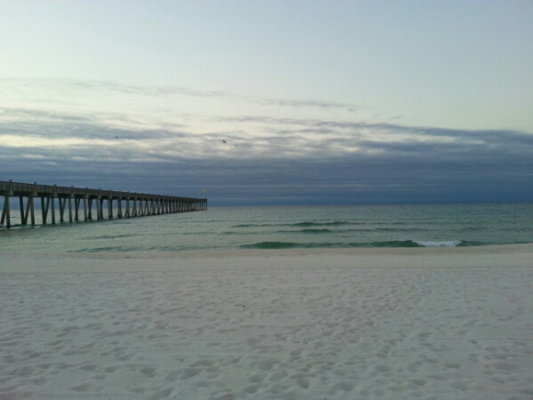 Thursday Sunrise Beach and Surf Report 10/30/14