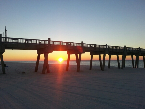 Sunday Sunrise Beach and Surf Report 11/02/14