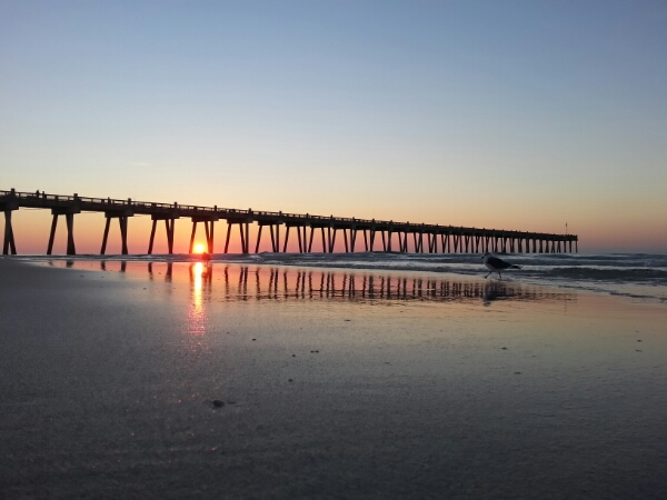 Tuesday Sunrise Beach and Surf Report 12/09/14