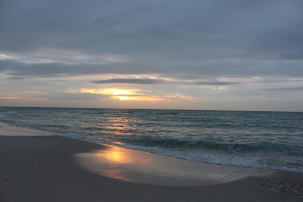 Friday Sunrise Beach and Surf Report 12/19/14
